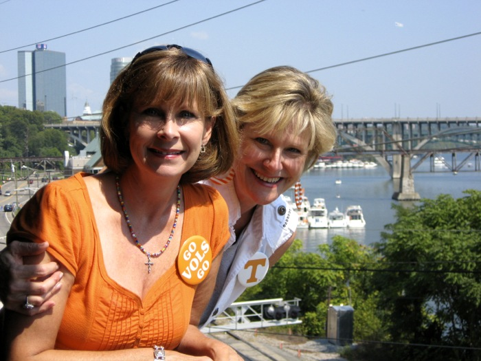 Robin & Kathy's antique Tennessee buttons photo by Kathy Miller