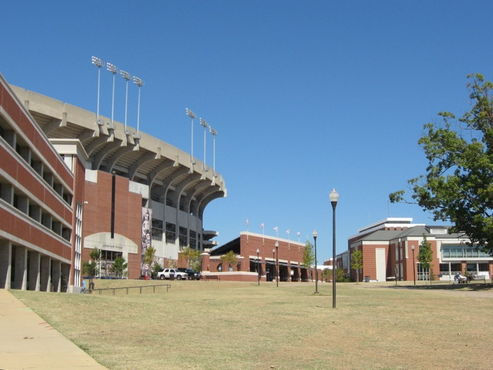 Jordan-Hare Stadium Auburn University photo by Kathy Miller