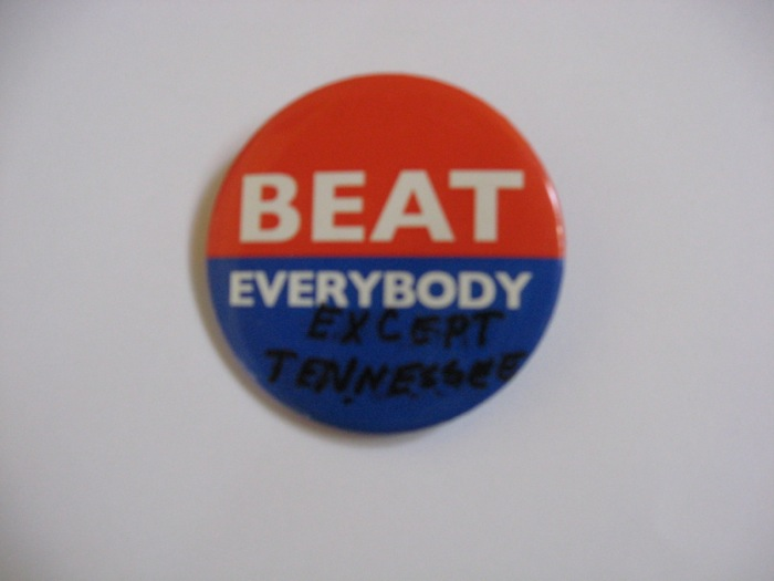 Beat Everybody except Tennessee photo by Kathy Miller