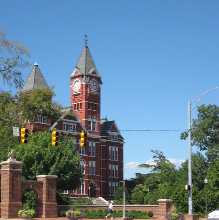 Samford Hall Auburn University photo by Kathy Miller
