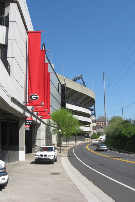 Sanford Stadium Athens Georgia photo by Kathy Miller