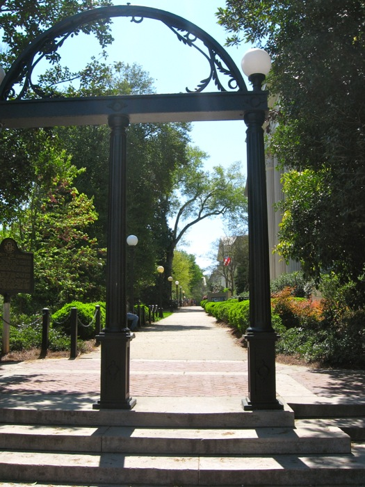 The Arch University of Georgia Athens photo by Kathy Miller