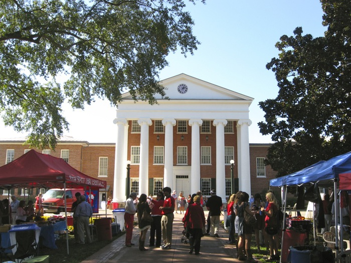 The Lyceum at The Grove Ole Miss photo by Kathy Miller