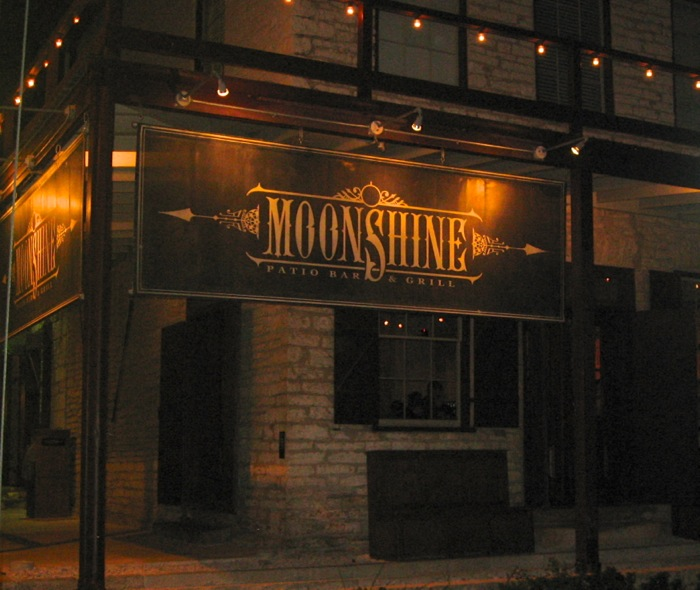 Moonshine Restaurant, Austin, Texas photo by Kathy Miller