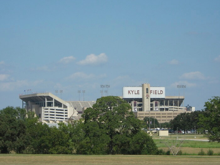 Kyle Field at Texas A&M in College Station, Texas photo by Kathy Miller