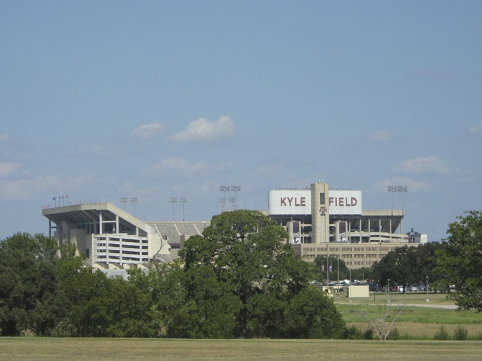 Kyle Field, Texas A&M stadium photo by Kathy Miller