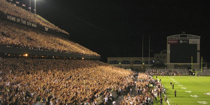 Midnight Yell Aggies & Gators photo by Kathy Miller