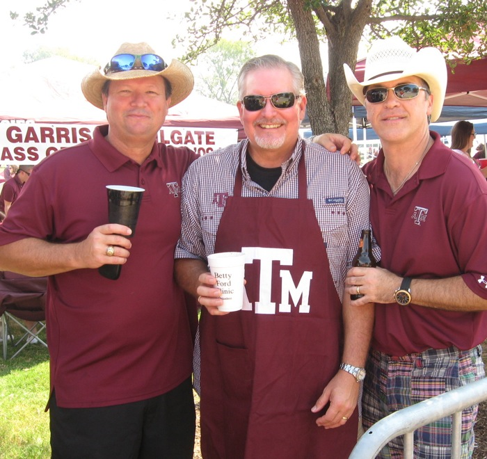 Wonderful Aggie fans photo by Kathy Miller