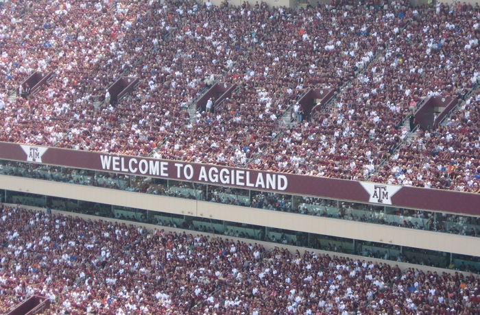 Welcome to Aggieland Texas A&M photo by Kathy Miller