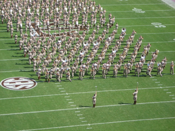 Aggie Band photo by Kathy Miller