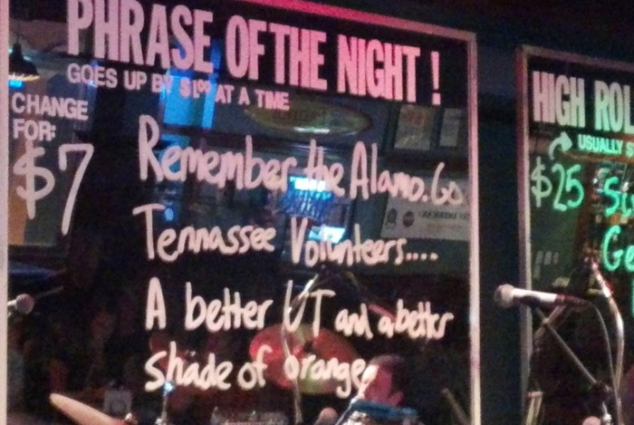 Remember The Alamo Tennessee Volunteers...A Better Ut and a better Shade of Orange photo by Kathy Miller