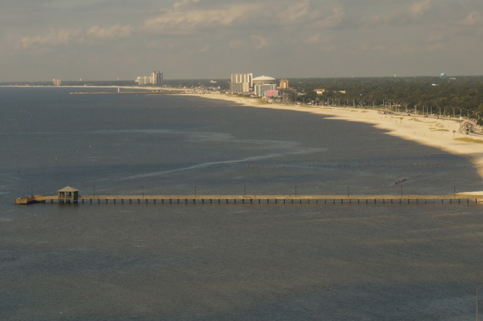 View from Beau Rivage, Biloxi, Mississippi photo by Kathy Miller