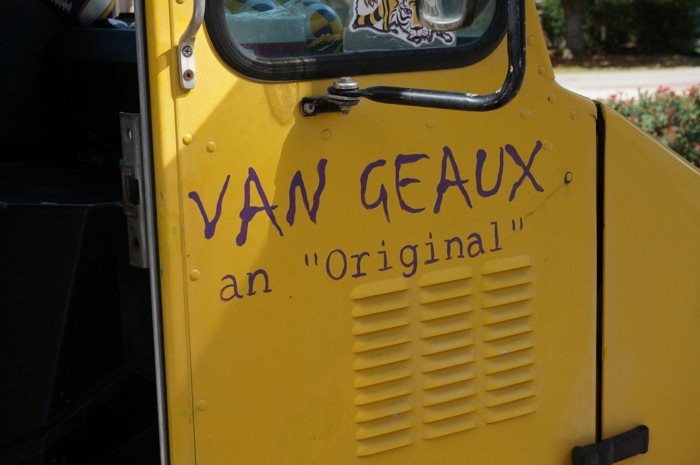Van Geaux an original photo by Kathy Miller