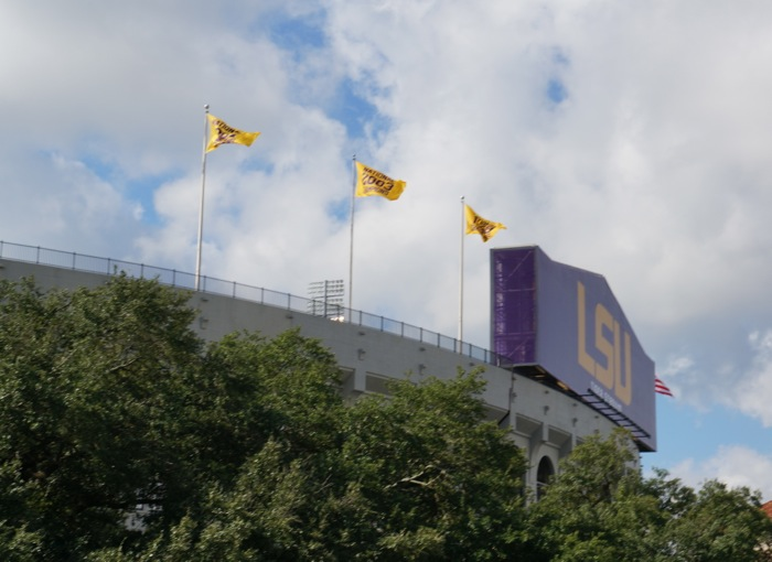 Tiger Stadium Death Valley LSU photo by Kathy Miller