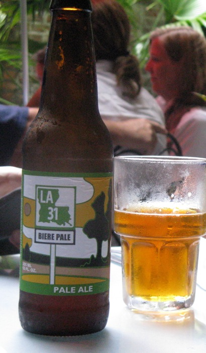 Louisiana Pale Ale at the Napoleon House in New Orleans photo by Kathy Miller
