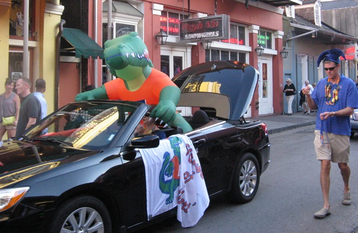 New Orleans Gator Parade photo by Kathy Miller