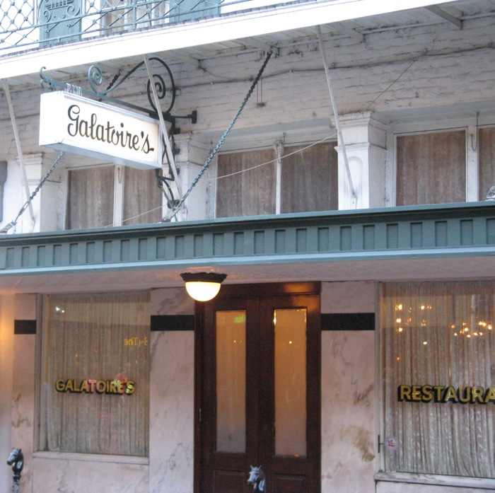 Galatoire's on Bourbon Street New Orleans photo by Kathy Miller