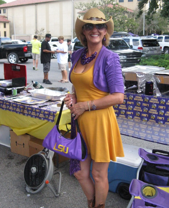 LSU Tailgater photo by Kathy Miller