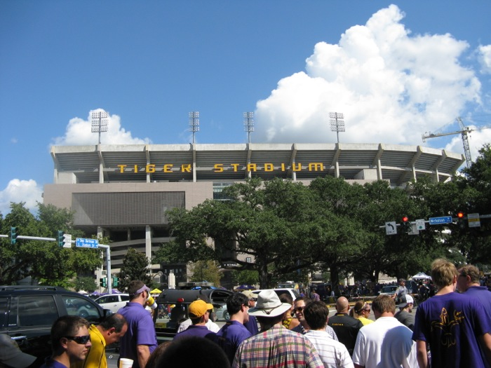 Tiger Stadium LSU photo by Kathy Miller