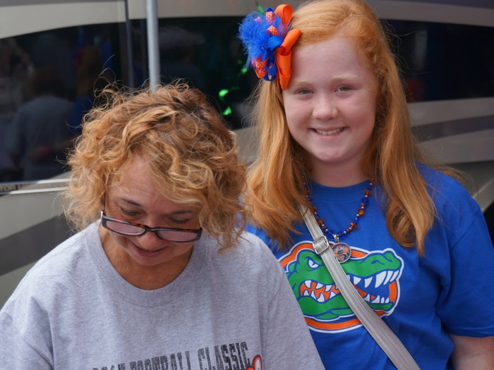 Gators cook in RV City photo by Kathy Miller
