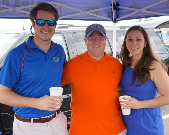 James, Mike & Rachel photo by Kathy Miller