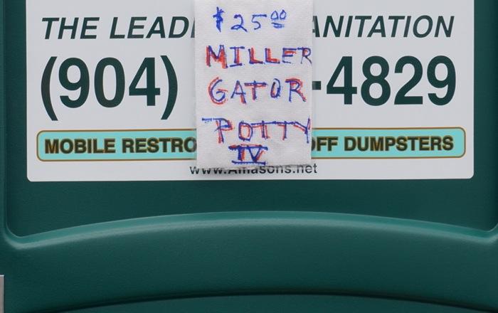 $25 Gator Potty photo by Kathy Miller