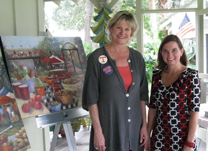 Kathy & Lynn Tennille The Plantation Shop photo by Kathy Miller