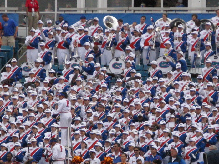 Gator Band photo by Kathy Miller
