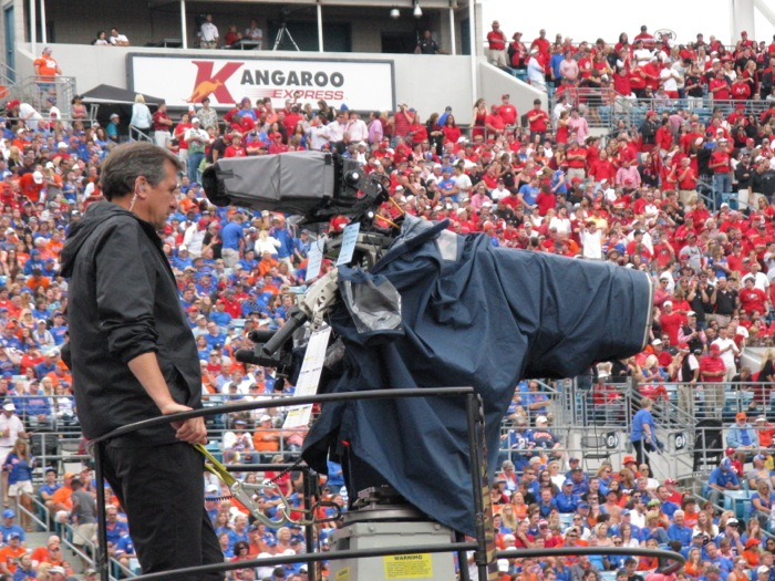 The Camera Man photo by Kathy Miller