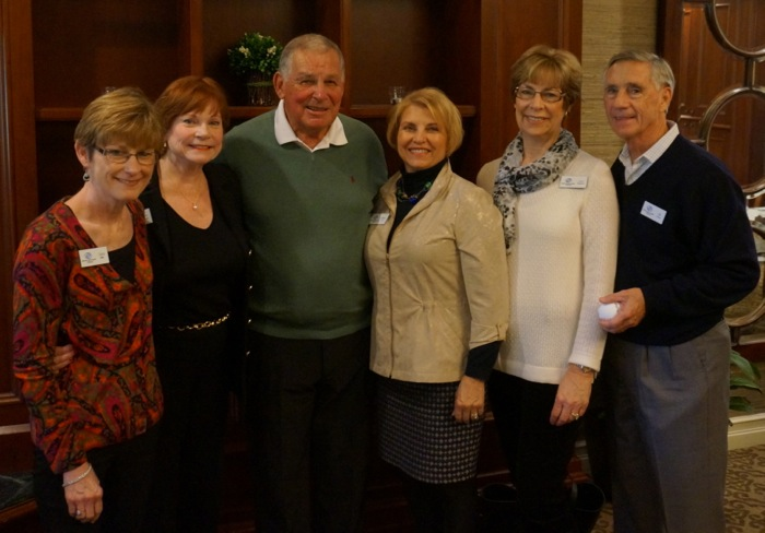 Bobby Cox with Auction Committee for the Boys & Girls Club Nassau benefit photo by Kathy Miller