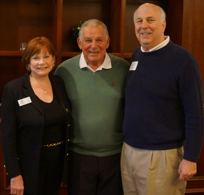 Ann and Bill Moser with Bobby Cox Boys & Girls Club Lunch photo by Kathy Miller