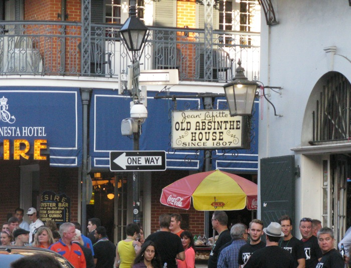 Old Absinthe Bar in New Orleans photo by Kathy Miller