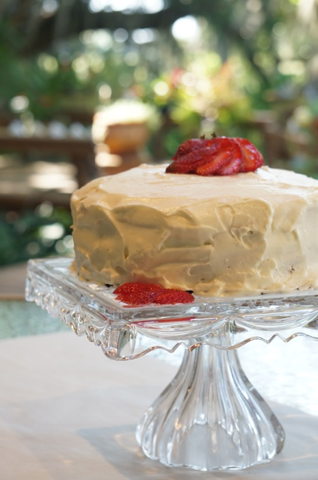 Mother's Day Strawberry Cake photo by Kathy Miller