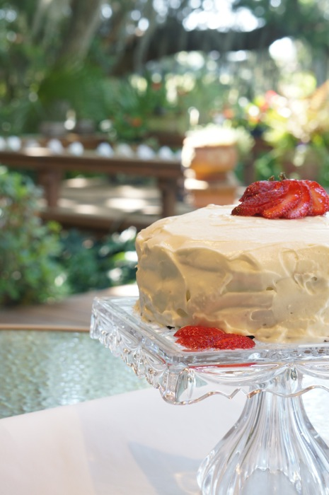 Frances Stone's Strawberry Preserves Cake photo by Kathy Miller