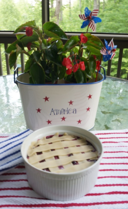 Blueberry Pecan Cobbler photo by Kathy Miller