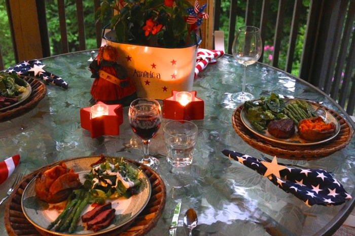 Memorial Day Meal photo by Kathy Miller
