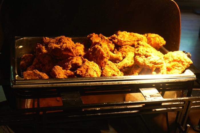 High Hampton Inn's Fried Chicken on Sundays photo by Kathy Miller