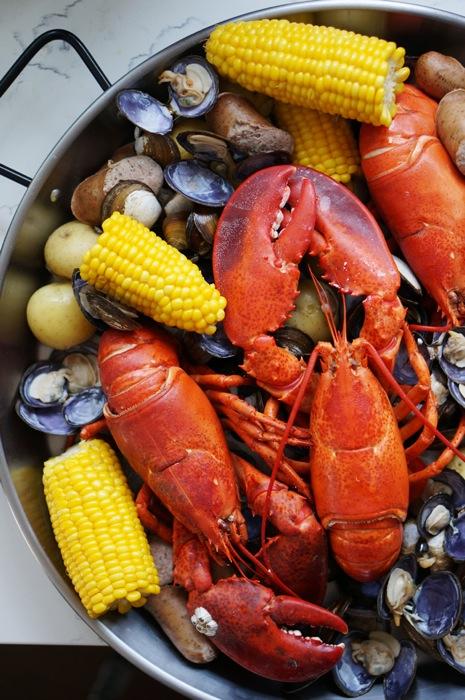 Maine lobster boil Honestly Yum blog