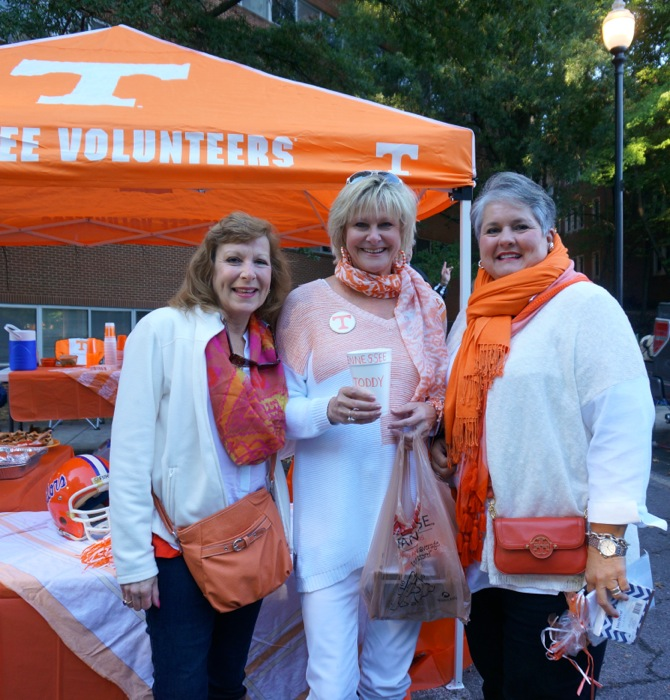 A Tennessee Tailgate with Joy McCabe and Cheryl Wilburn photo by Kathy Miller