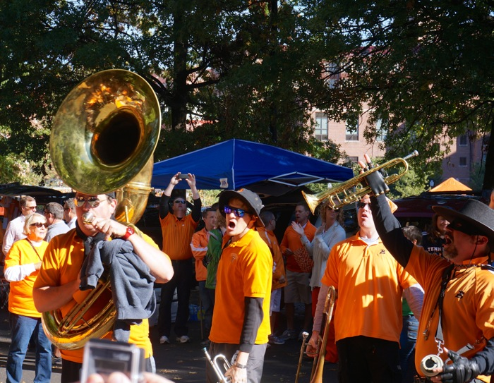 The Bandilitos playing Rocky Top photo by Kathy Miller