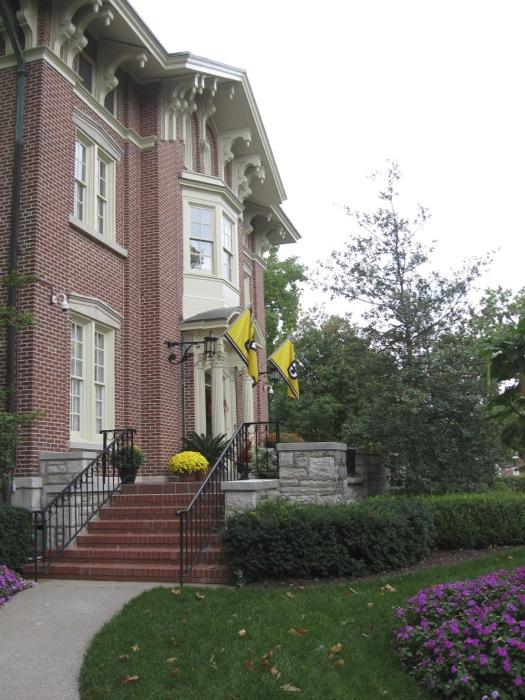 Presidents House University of Missouri photo by Kathy Miller
