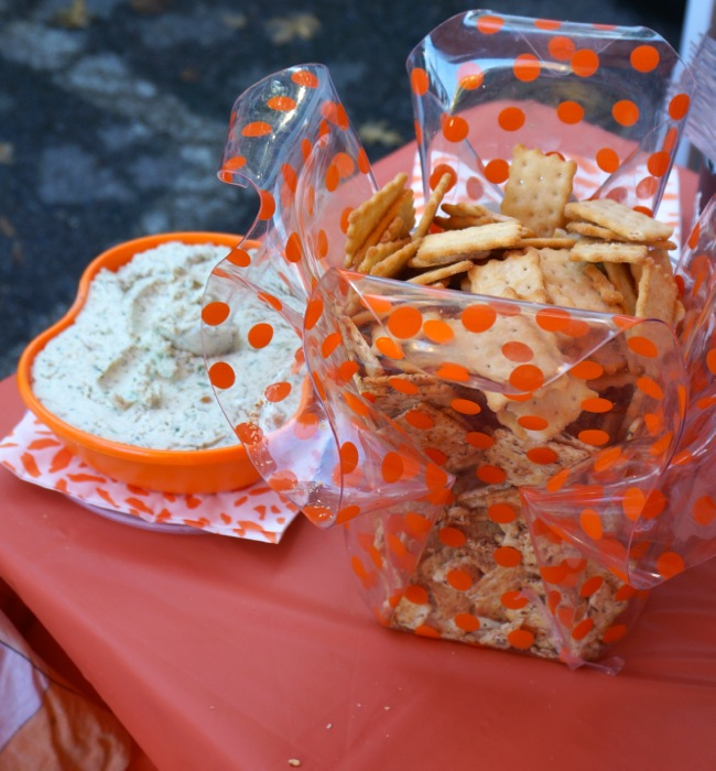 Ann Bodie's Blue Cheese Spread photo by Kathy Miller