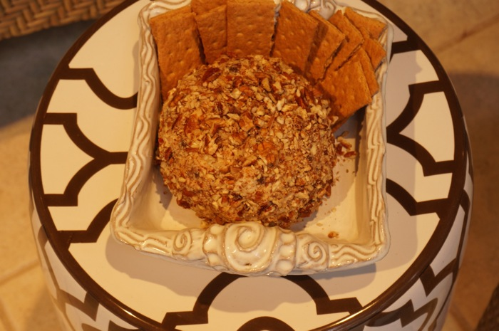 Chocolate Chip Cheese Ball photo by Kathy Miller
