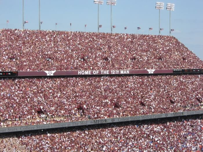 Texas A&M Home of the 12th Man photo by Kathy Miller