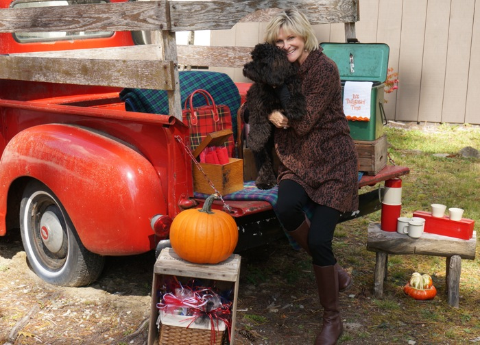 Vintage tailgate with Sheldon photo by Kathy Miller