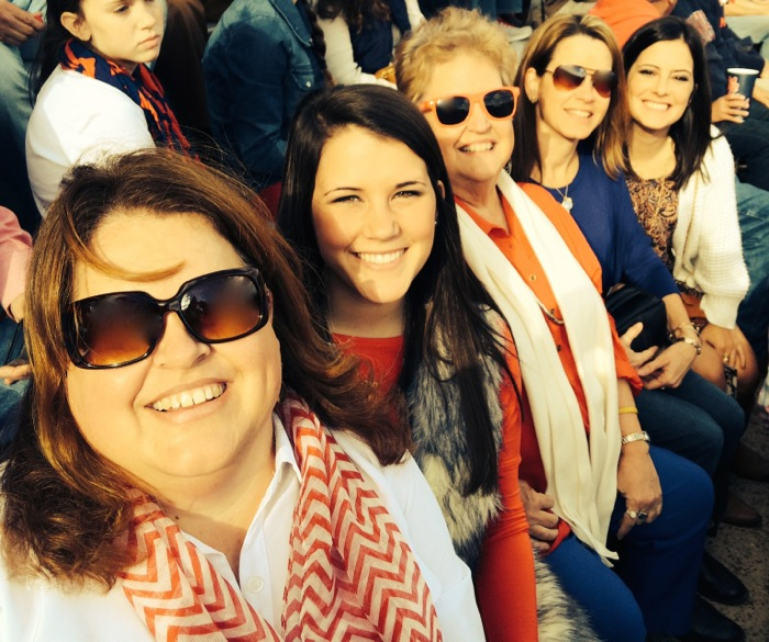 The Egg Bowl Ole Miss vs MSU with Carol Jones and family photo by Carol Jones