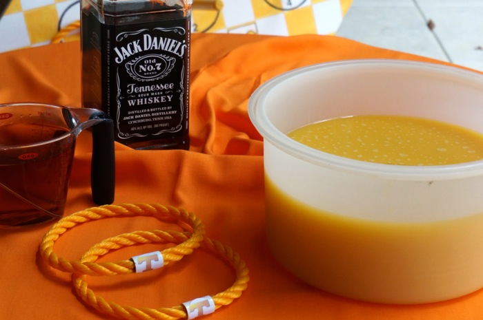 Tennessee Toddy Slushies using Jack Daniels, Tennessee whisky photo by Kathy Miller