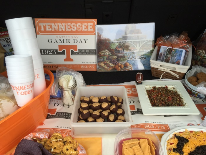 A Tennessee Tailgate with Tailgating With The Vol Navy prints and cards photo by Kathy Miller