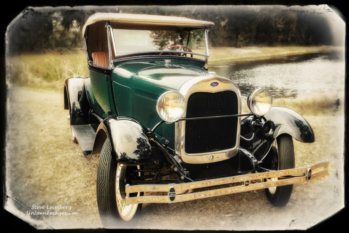Sepia Ford Model A photo by Steve Leimberg, Unseen Images styling by Kathy Miller