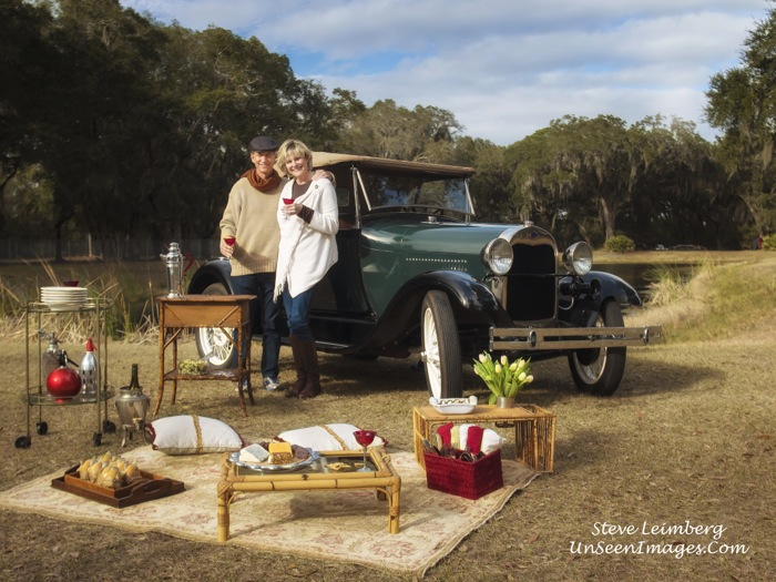 Kathy and Dave Miller with Ford Model A photo by Steve Leimberg, Unseen Images.com